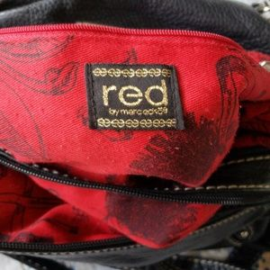 red by marc ecko Bags - Red by Marc Ecko Large Multi Pocket Bag Black